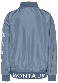 Monta Juniors - JAIPUR - Training jacket - steel blue - 1