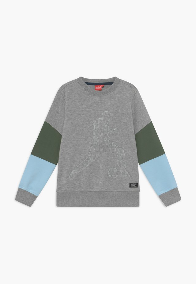 CARDIFF - Collegepaita - heather grey