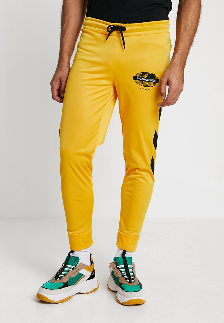 Modern Native - BOTTOM - Pantaloni sportivi - yellow