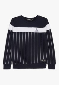Modern Native - COLOUR BLOCK WITH SCREEN PRINTED STRIPES - Sweatshirt - blue - 0