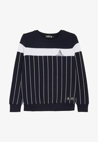 Modern Native - COLOUR BLOCK WITH SCREEN PRINTED STRIPES - Sweatshirt - blue - 3