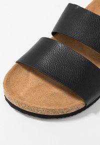 Monki - LIZA - Slippers - black - 2