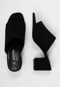 Monki - SARAH - Heeled mules - black - 3
