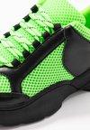 Monki - RITVA - Sneakers - black/green