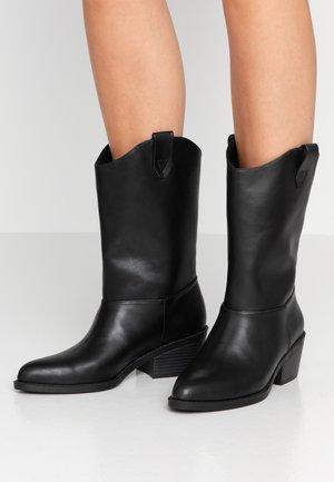 CANDACE - Cowboy/Biker boots - black