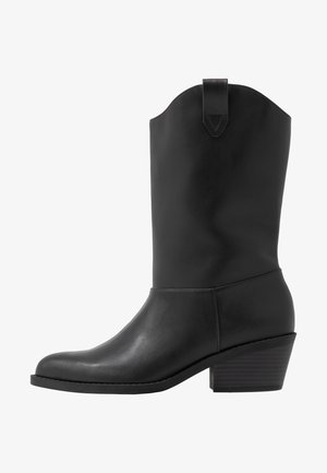 CANDACE - Cowboy- / Bikerboots - black