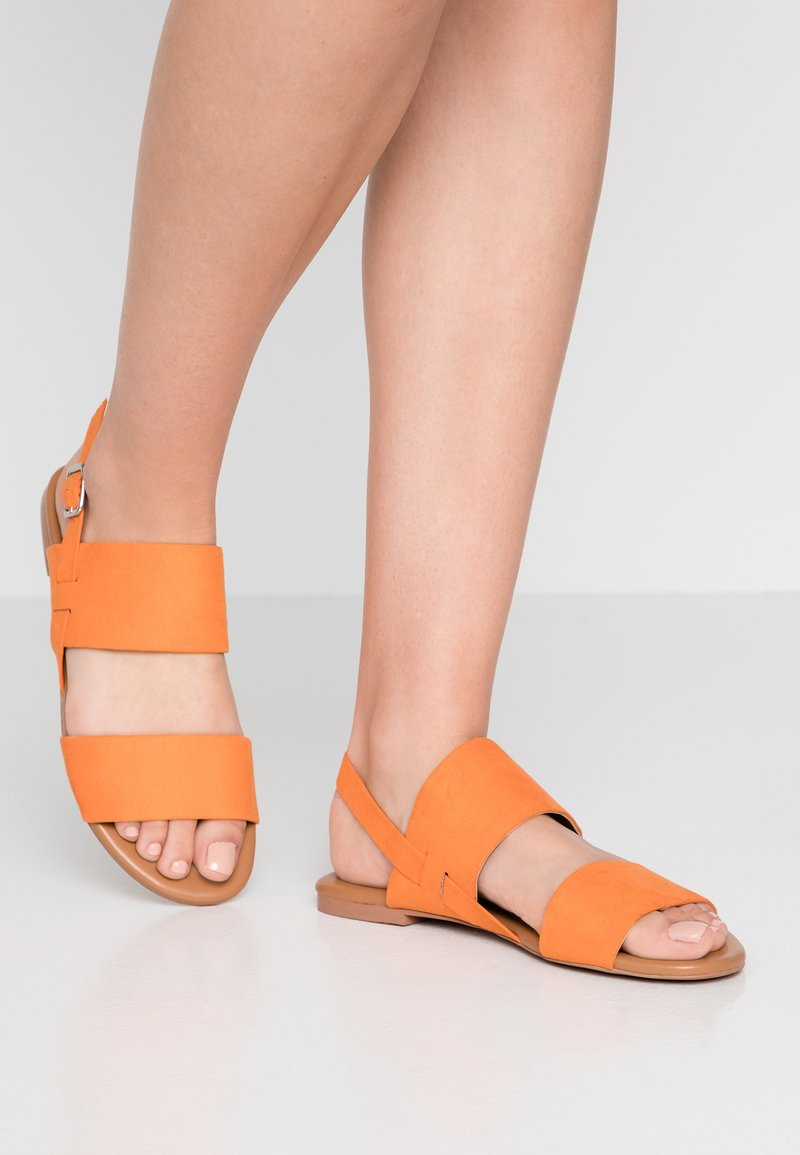 Monki - BEATA UNIQUE  - Riemensandalette - orange