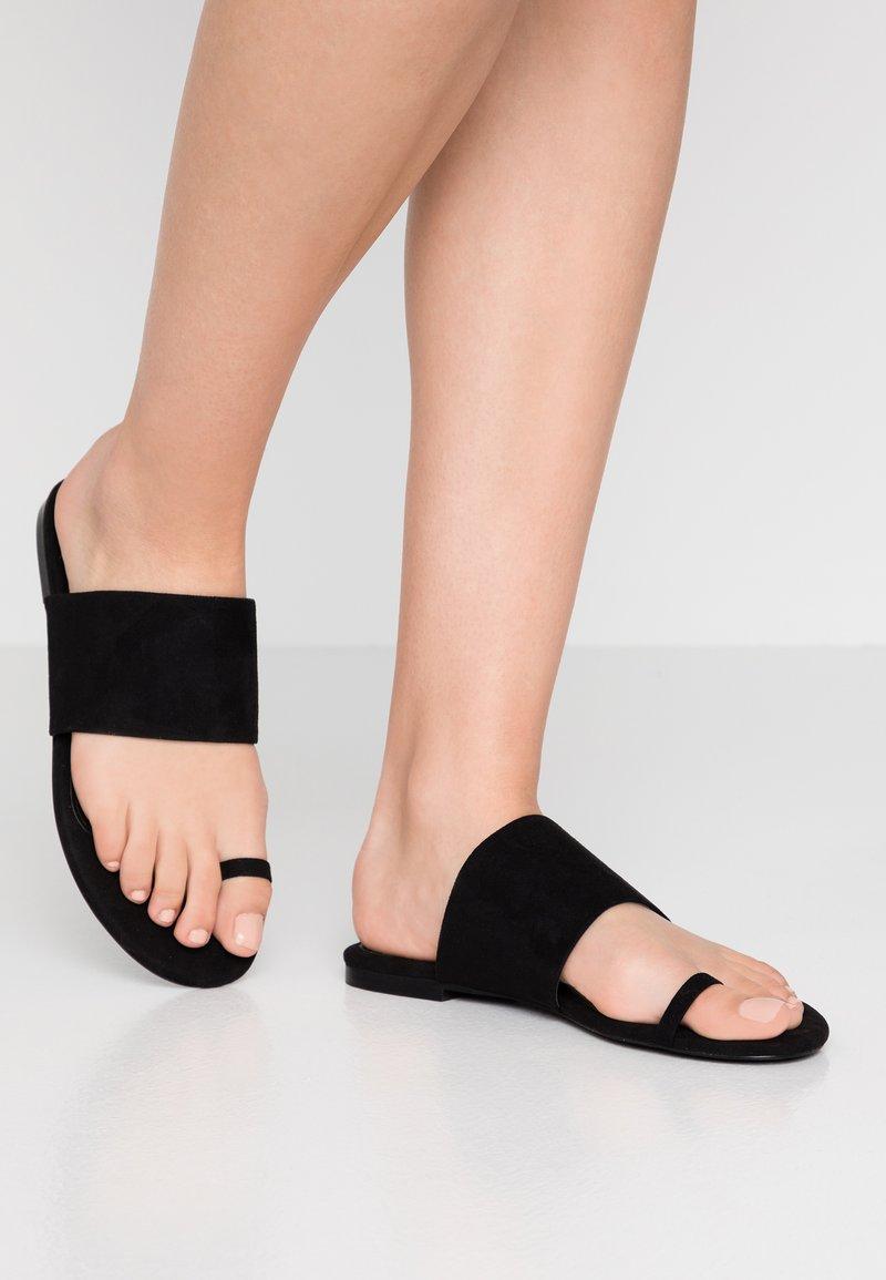 Monki - HANNA  - T-bar sandals - black