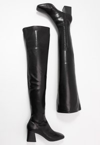 Monki - ARIANNE BOOT - Over-the-knee boots - black - 3
