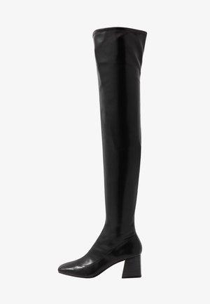 ARIANNE BOOT - Kozačky nad kolena - black