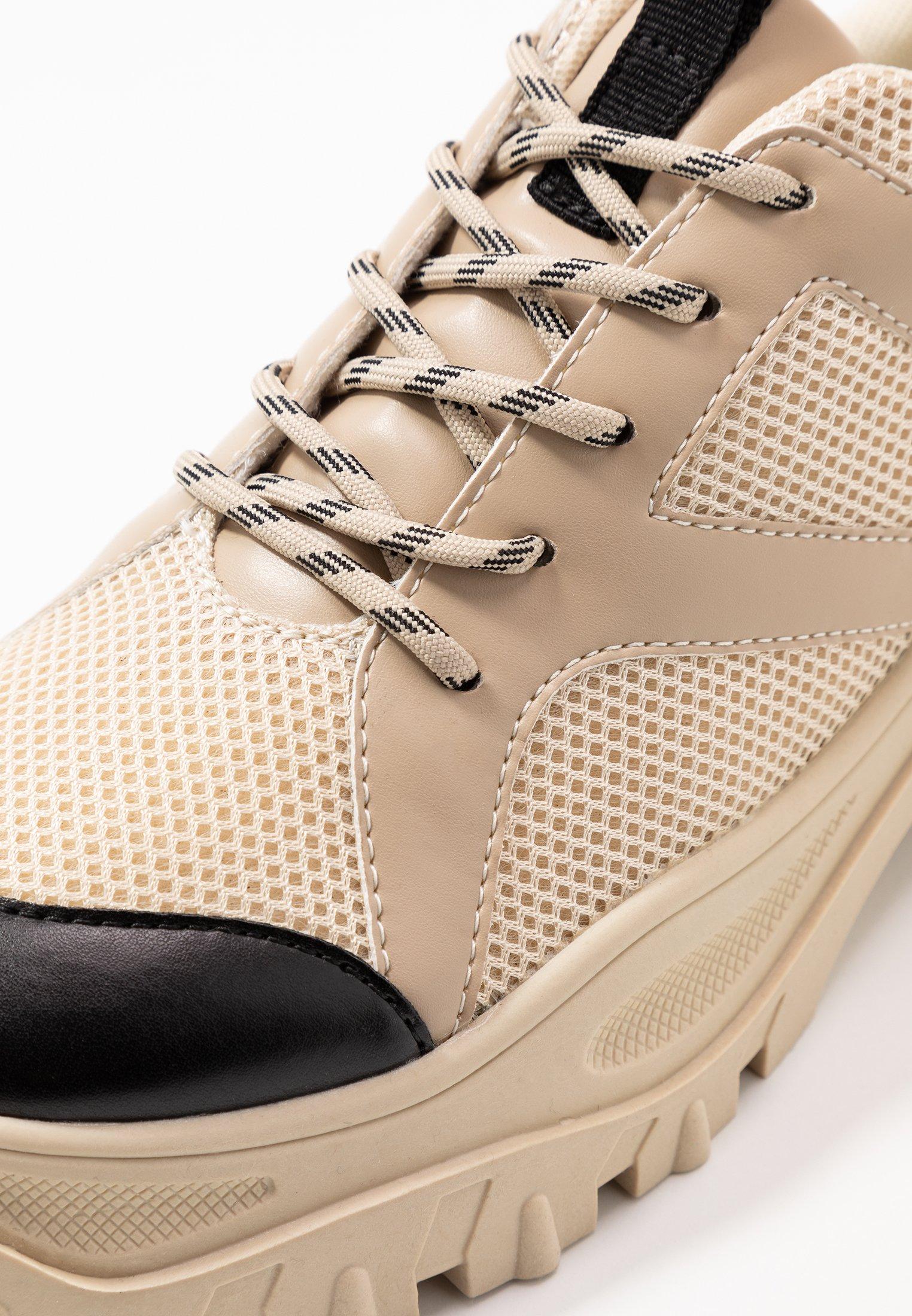 Monki HEDVIG - Sneakers - beige
