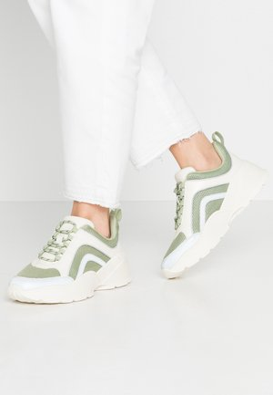 RITVA - Sneakers - green/white