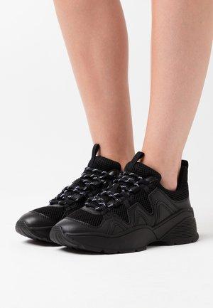 VEGAN SONIA - Trainers - black dark