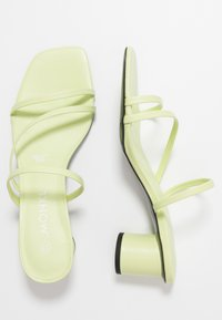 Monki - AGNES  - Heeled mules - lime - 3