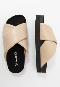 Monki - BELLA  - Pantofle - beige - 4