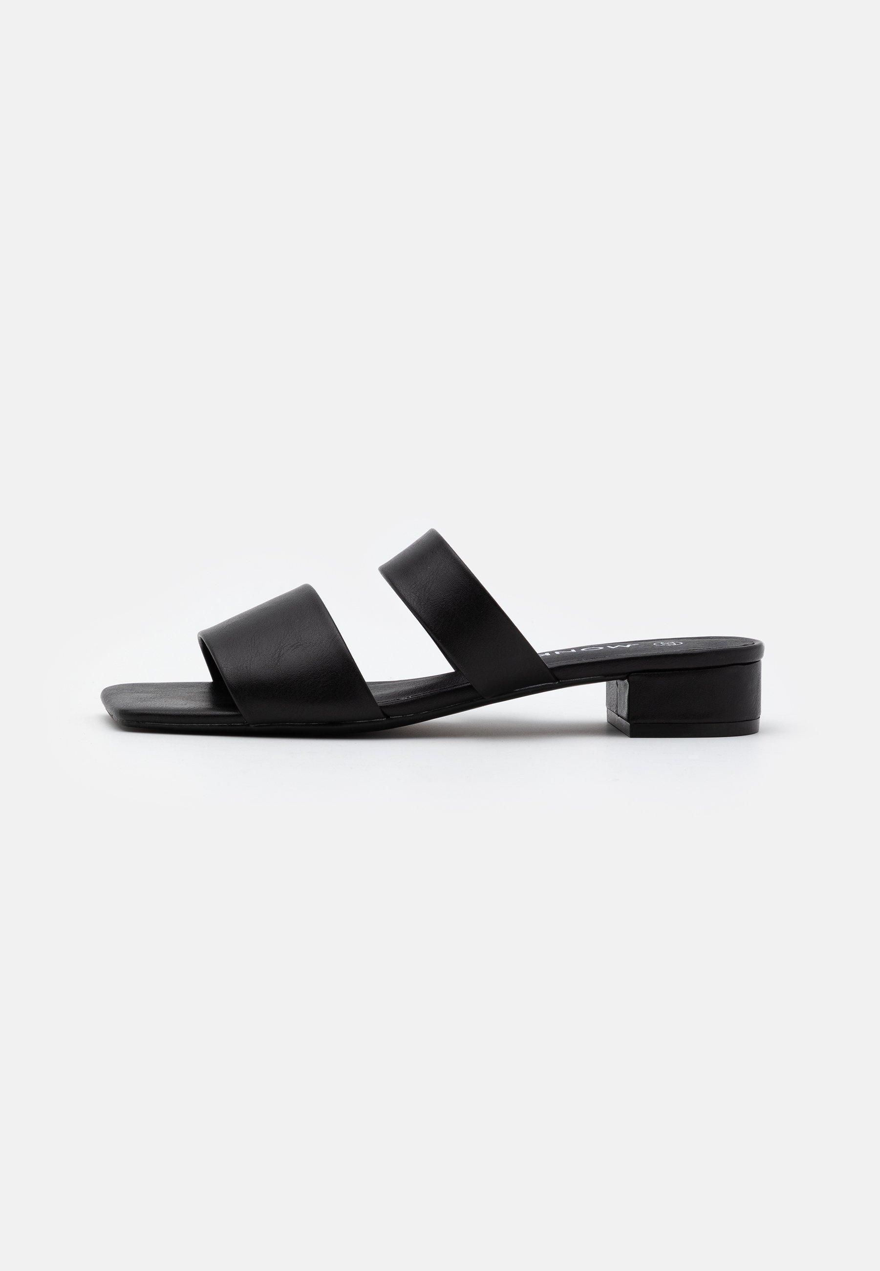 Monki JULIE  - Pantolette flach - black 2fvvtt