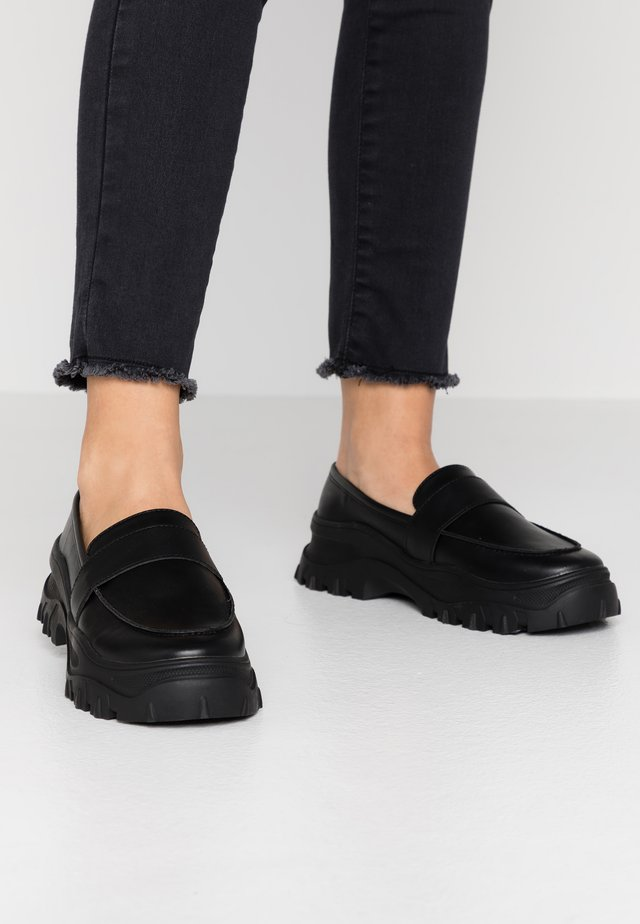 CARLA LOAFER - Slip-ons - black