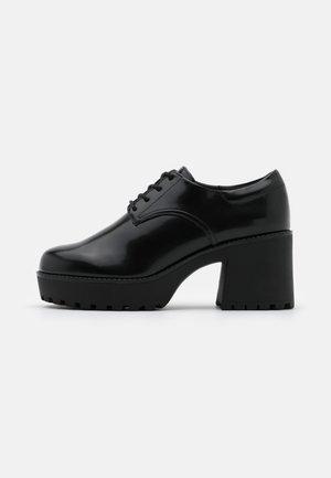 VEGAN VANESSA SHOE - Lace-up heels - black
