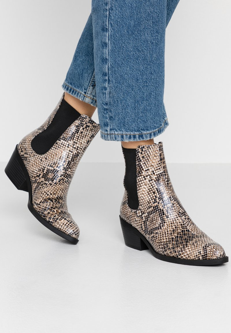 Monki - KENDALL BOOT - Classic ankle boots - light brown