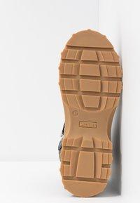 Monki - AINO - Platform ankle boots - black - 6