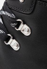 Monki - AINO - Platform ankle boots - black - 2