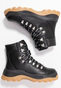 Monki - AINO - Platform ankle boots - black - 3