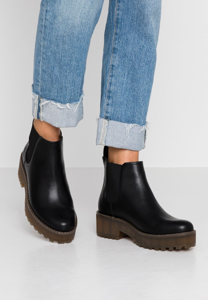 Monki - RONJA - Boots à talons - black