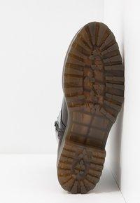 Monki - MANDY - Platform ankle boots - brown - 6