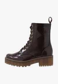 Monki - MANDY - Platform ankle boots - brown - 1