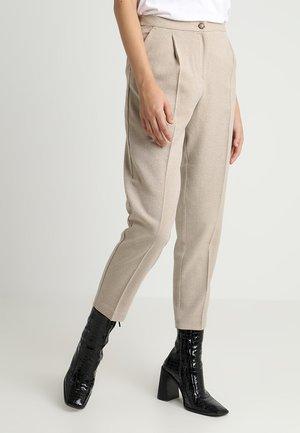 TARJA TROUSERS - Bukse - beige