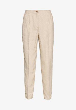 TARJA TROUSERS - Pantalon classique - beige