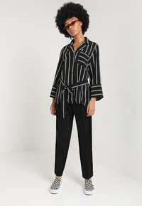 Monki - TARJA TROUSERS - Trousers - black - 1