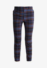 Monki - PETRA TROUSERS - Spodnie materiałowe - brown/red - 4