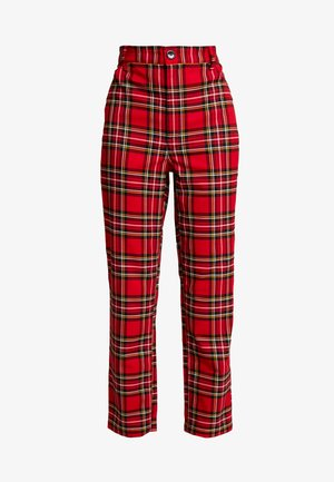 YOSSAN TROUSERS - Pantaloni - red