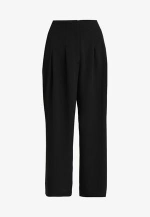 ELLI TROUSERS - Pantalon classique - black