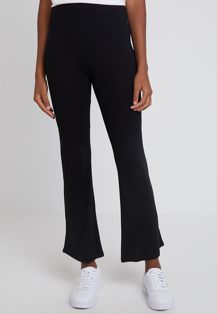 Monki - TORA TROUSERS - Pantaloni - black