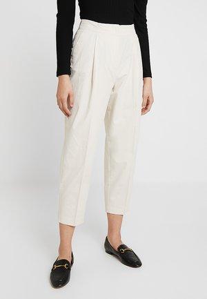 MONA TROUSERS - Kalhoty - light beige