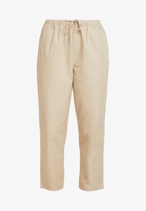 TINA TROUSER UNIQUE - Tygbyxor - beige