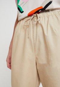 Monki - TINA TROUSER UNIQUE - Trousers - beige - 4
