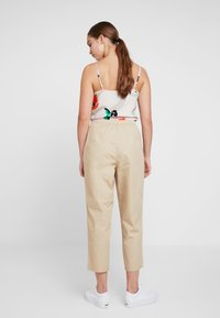 Monki - TINA TROUSER UNIQUE - Trousers - beige - 2
