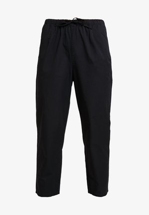 TINA TROUSER UNIQUE - Trousers - black