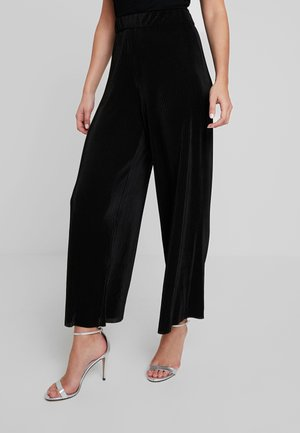 TRISHA TROUSERS - Broek - black