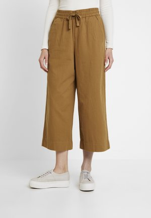 KAI TROUSERS - Trousers - brown