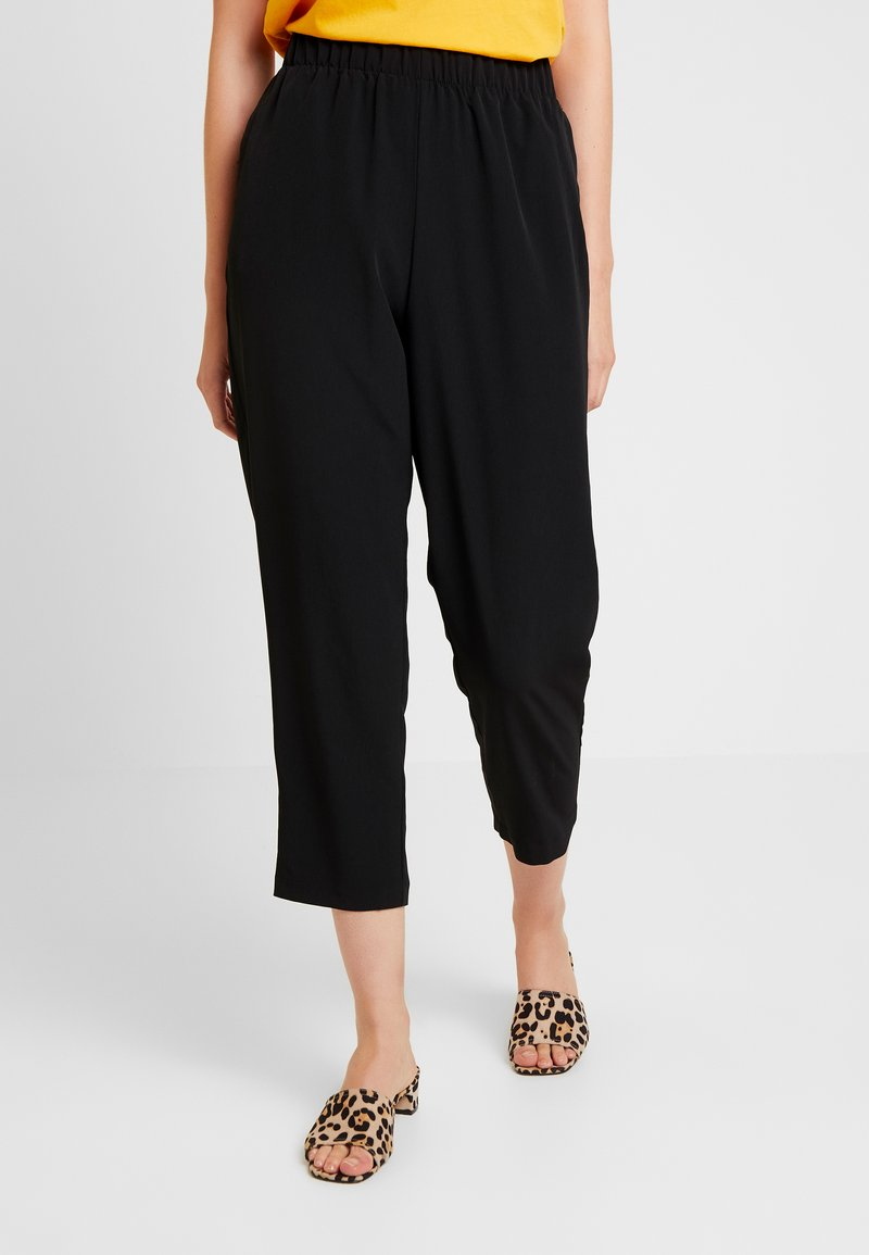 Monki - NAIMY TROUSERS - Trousers - black