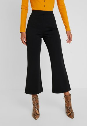 STARLET TROUSERS - Kangashousut -  black dark