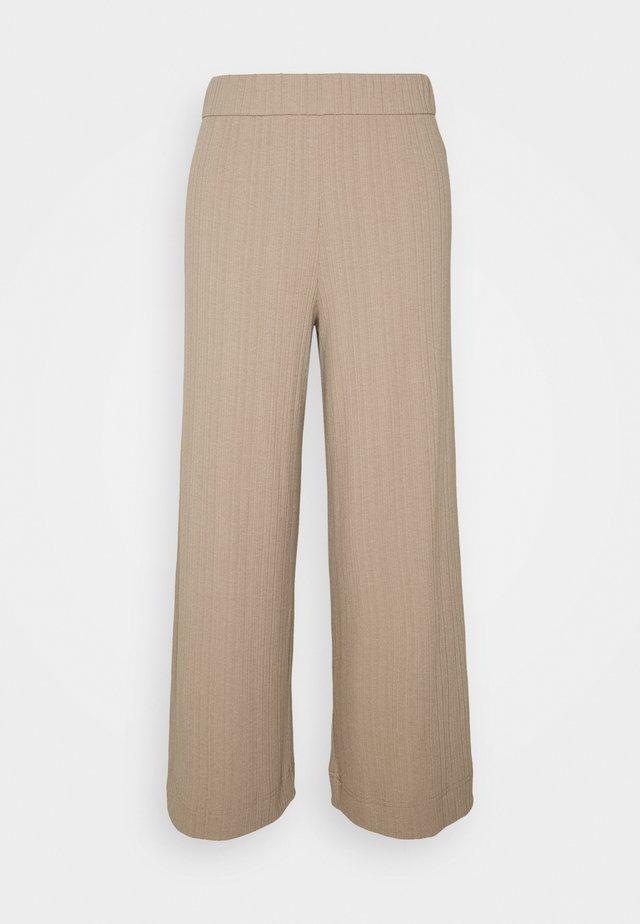 CILLA TROUSERS - Trousers - mole medium dusty