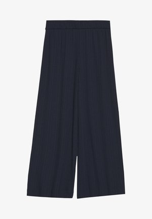 CILLA TROUSERS - Broek - blue dark