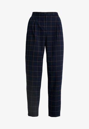 TARJA TROUSERS - Spodnie materiałowe - blue dark