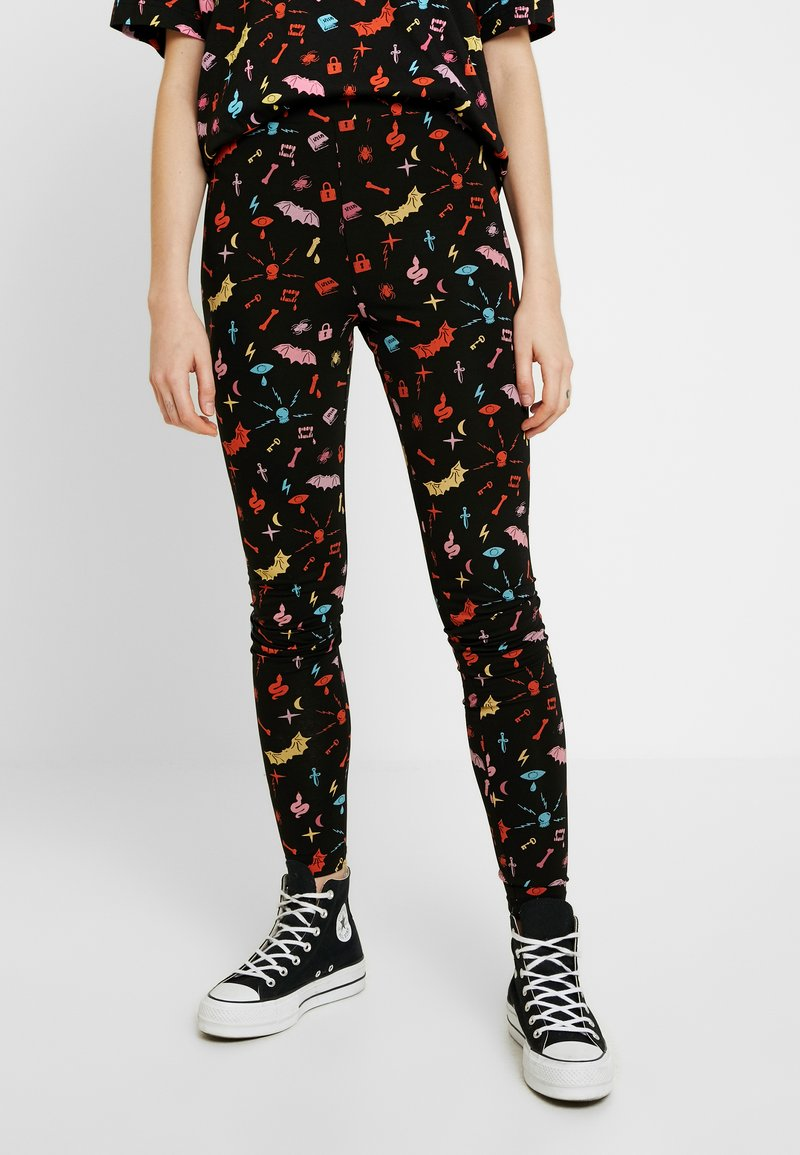 Monki - ED - Leggings - Trousers - black