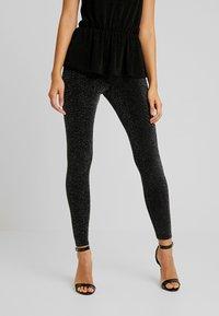 Monki - ED - Leggings - Trousers - black - 0
